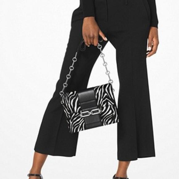 Michael Kors Handbags - MICHAEL KORS COLLECTION Cate Medium Zebra Calf Hai